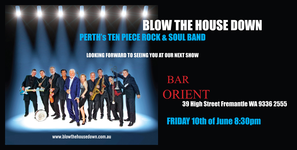 BDTH Bar Orient June